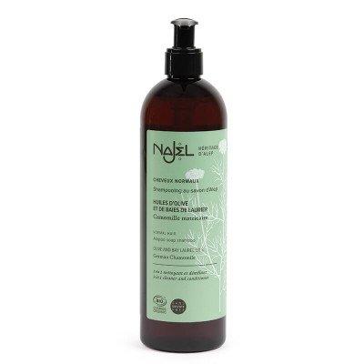 Najel Biologische Aleppo 2-in-1 Shampoo voor Normaal Haar - EcoCert - 500 ml Najel