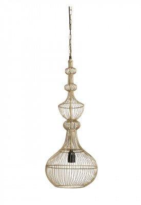 Light en Living Light & Living Hanglamp 'Ophelia' 25cm, kleur Goud