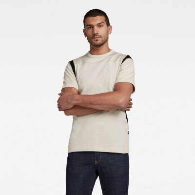 G-Star RAW Moto Mesh Motac T-Shirt - Beige - Heren