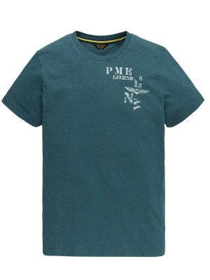 PME Legend PME Legend Short sleeve r-neck slub jersey