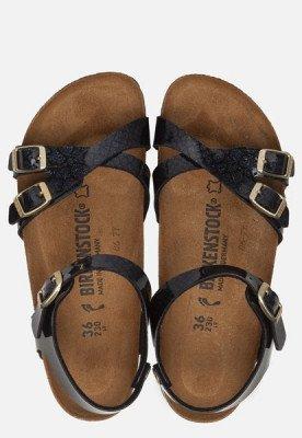 Birkenstock Birkenstock Kumba Magic Snake sandalen zwart