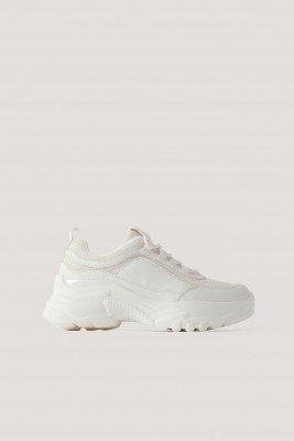 NA-KD Shoes NA-KD Shoes Chunky Sneaker - White