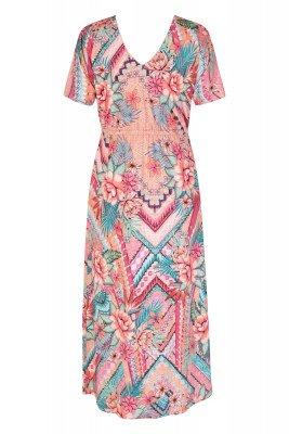 K-design K-Design Maxi-jurk Multicolor Q881