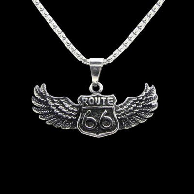 Outlaws Amsterdam NL ROUTE 66. - NECKLACE