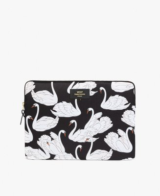 "Wouf Wouf 13"" Laptop Sleeve Swan"