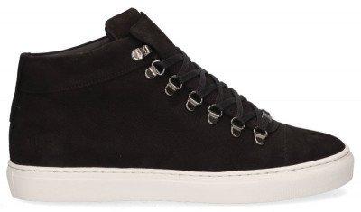Nubikk Nubikk Jase Mid Zwart Herensneakers