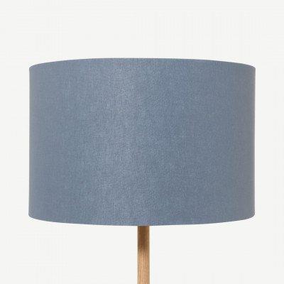 MADE.COM Emblyn lampenkap, 45 cm, blauwtinten