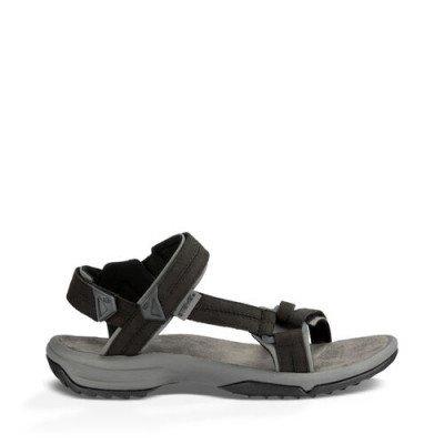 Teva Teva Terra Fi Lite Leather Sandalen, Zwart voor Dames, Maat 43