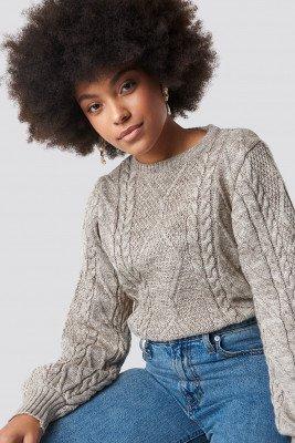 Trendyol Trendyol Weave Detailed Sweater - Beige