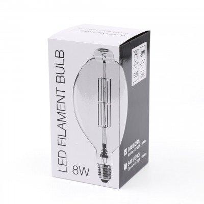 LifestyleFurn Kooldraadlamp 'Lain' E27 LED 8W, kleur Amber, dimbaar