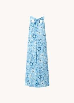 Whistles Whistles Cecilia Batik Garland midi jurk met bloemenprint