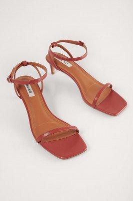 NA-KD Shoes NA-KD Shoes Sandalen Met Bandjes - Red