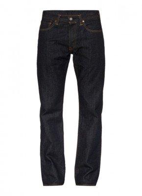 Levi's Levi's 501 straight fit jeans Marlon donkerblauw