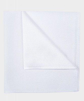 Michaelis Michaelis heren zijden pochet wit