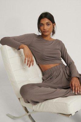 Trendyol Trendyol Loungewear Set - Brown