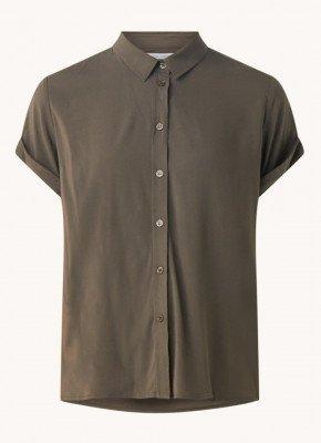 Samsøe en Samsøe Samsøe & Samsøe Majan blouse met korte mouw