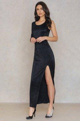 Rut&Circle Elina one shoulder dress - Black