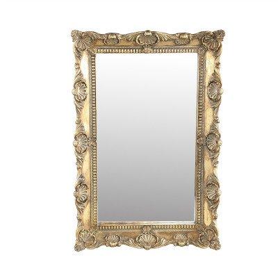 Firawonen.nl PTMD Matteo Gold poly antieke spiegel rechthoek S