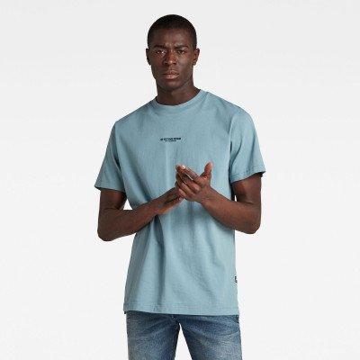 G-Star RAW Center Chest Logo GR Loose T-Shirt - Grijs - Heren
