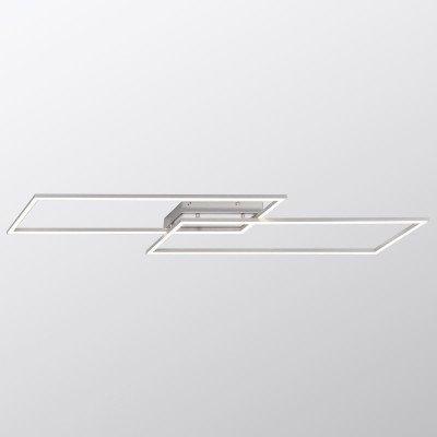 PAUL NEUHAUS LED plafondlamp Inigo m 2 lampjes lengte 113,2 cm