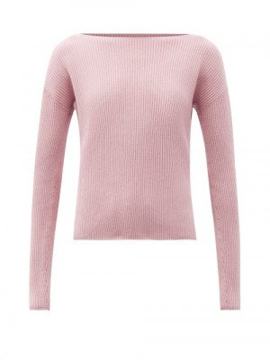 Matchesfashion Max Mara Leisure - Ciro Sweater - Womens - Pink