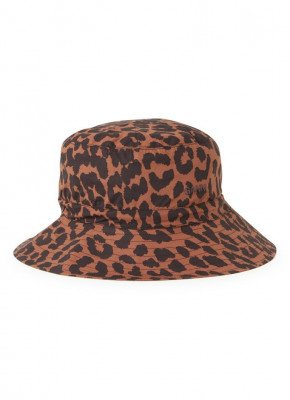 Ganni Bucket hoed met panterprint
