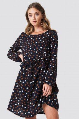 Rut&Circle Rut&Circle Dotty Dress - Blue