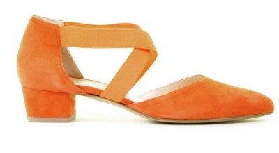 Cypres Cypres 621510-129 Oranje Damespumps