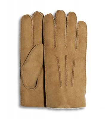 UGG UGG Glove With Gauge Points Cognac Heren Handschoenen