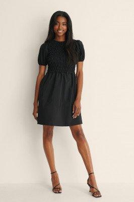 Trendyol Trendyol Gerimpeld Mini-jurk - Black