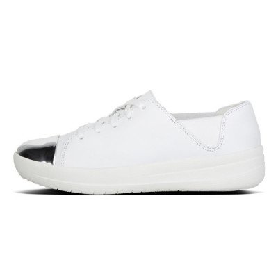 FitFlop FitFlop F-Sporty Mirror Toe sneakers wit