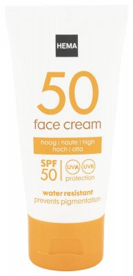 HEMA Face Sun Cream Anti Pigmentatie SPF 50 - 50 Ml