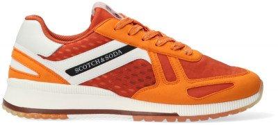 Scotch en Soda Oranje Scotch & Soda Lage Sneakers Vivex
