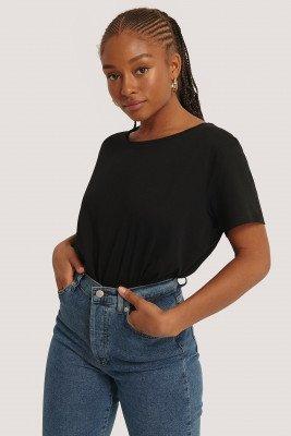 NA-KD Basic Basic Oversized T-Shirt - Black