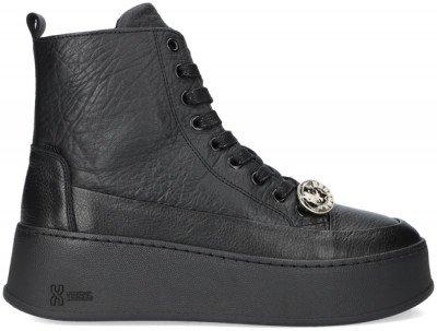 Bronx Zwarte Bronx Hoge Sneaker Bumpp-in 47368