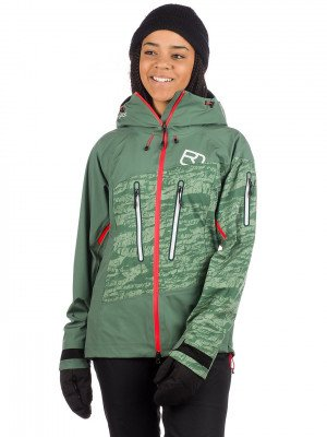 Ortovox Ortovox 3L Guardian Shell Jacket groen