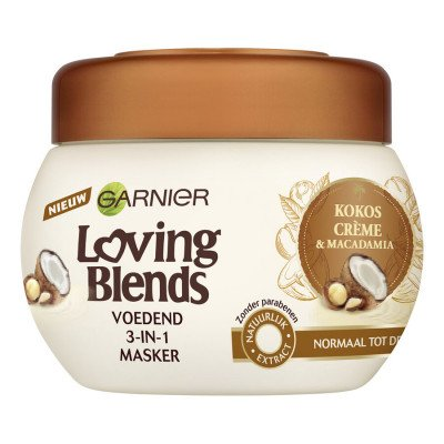 Garnier Garnier Loving Blends Kokosmelk Haarmasker 300ml