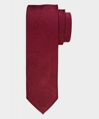 Michaelis Michaelis heren zijden stropdas bordeaux