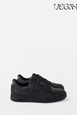 SAYE SAYE unisex vegan Sneaker Modelo '89 Vegan Zwart Zwart 38 Bamboe/Biologisch katoen/Bioplastic (PLA)/Gerecycled plastic (visnetten, flesjes, nylon, pol