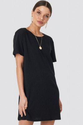 NA-KD Basic T-Shirtjurk - Black