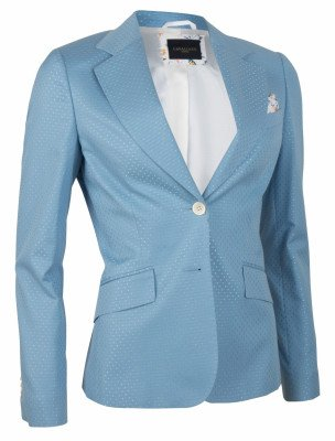 Cavallaro Napoli Cavallaro Napoli Dames Blazer - Venosa Blazer - Blauw