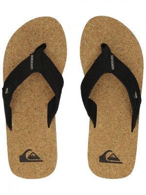 Quiksilver Quiksilver Molokai Abyss Cork Sandals zwart