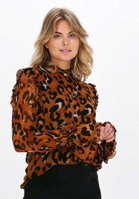 Fabienne Chapot Leopard Fabienne Chapot Blouse Carmen Blouse