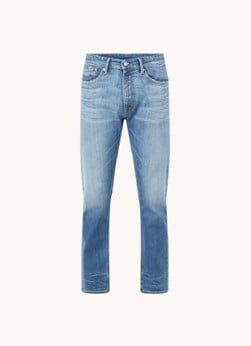 Kings Of Indigo Kings of Indigo John slim fit jeans met medium wassing
