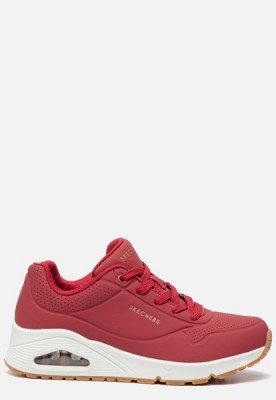 Skechers Skechers Uno Stand On Air sneakers rood