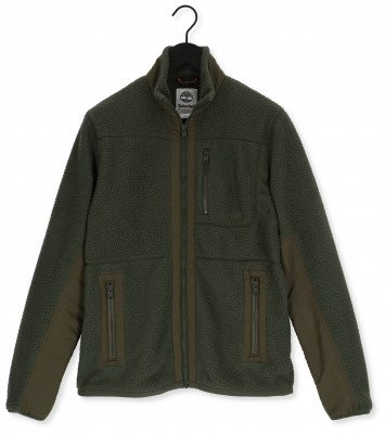 Timberland Groene Timberland Jack Mm Sherpa Fleece Jacket