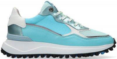 Floris van Bommel Blauwe Floris Van Bommel Lage Sneakers 85343