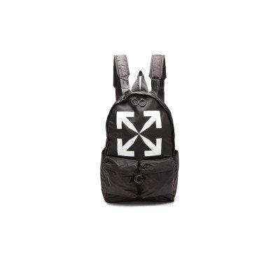 Off-White Off-White Logo Backpack Nylon Black