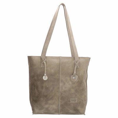 SoDutch SoDutch Bags Shopper Tulp #01 Licht Grijs