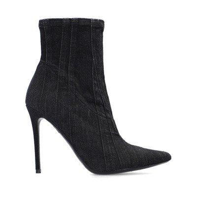 Diesel D-Yucca denim heeled boots
